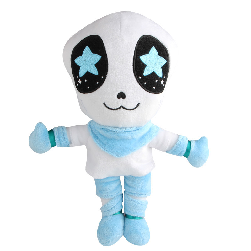1pcs 30cm Undertale Sans Plush Doll Toy Cute Anime Undertale White Sans Plush Toys Soft Stuffed Toys for Children Kids Gifts 30cm cute korea pororo little penguin plush toys doll pororo with glasses plush soft stuffed animals toys for children kids gift