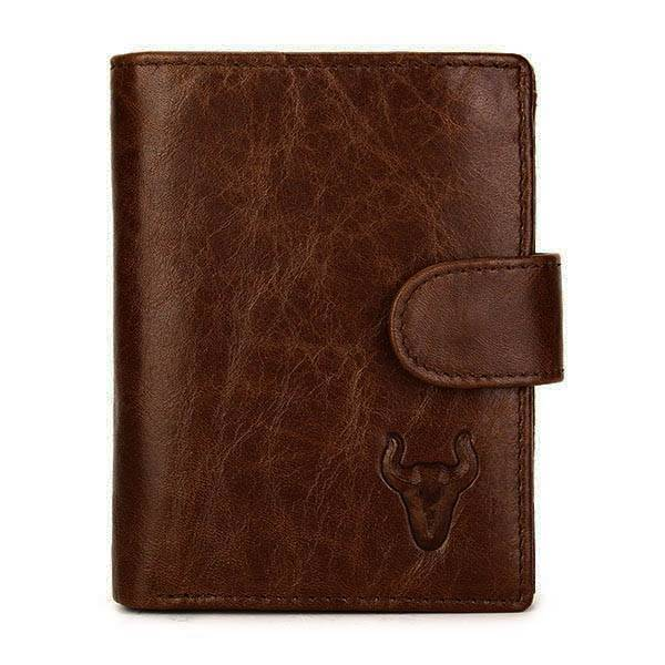 2016 New Mens Leather Practical Business Big Capacity Wallet