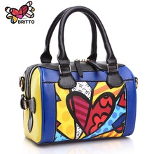 ROMERO BRITTO Free Shipping New Korean Fashion Handbags Diagonal Small Bags Pillow Bags Shell Bag Ladies Shoulder Messenger Bags