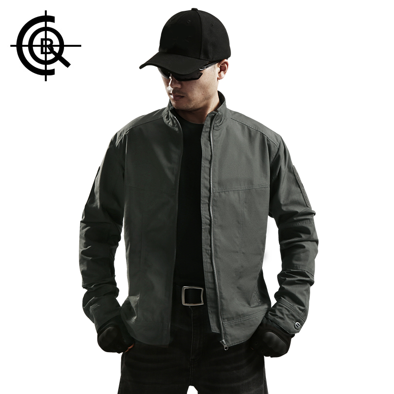 CQB Tactical Jacket Men Thin Wear-resisting Breathable Water Repellent Hunting Clothes Outdoor Windproof Coat CYF0713