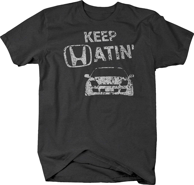 f55719d2e15f 2019 New Cool Tee Shirt Keep Hatin Prelude Lowered Fast JDM Race Tshirt  Fashion Cotton T