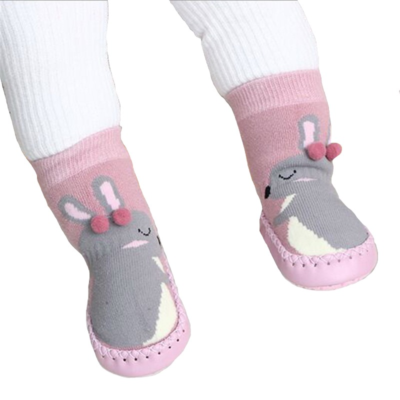 2018 Winter Baby Socks Boy Girl Socks Chaussette Enfant Cotton Baby Leg Warmers Children Floor Socks Anti-slip Baby Step Socks Large Assortment Socks