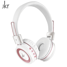 цена на bluetooth wireless headsets for game sports with portable microphone portable headphone tf card holder fm for ipod Jkr 210b