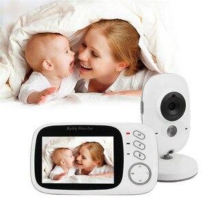 Image 2 - VB603 Video Baby Monitor 2,4G Wireless mit 3,2 Zoll LCD 2 Weg Audio Sprechen Nachtsicht Überwachung Sicherheit Kamera babysitter