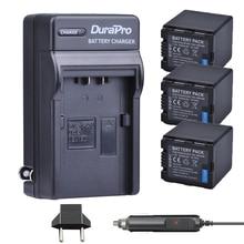 3 шт. vw-vbn260 VW vbn260 литий-ионный Батарея машины Зарядное устройство для Panasonic hc-x800 hc-x900 hc-x900m hc-x910 hc-x920 hc-x920m hdc-hs900