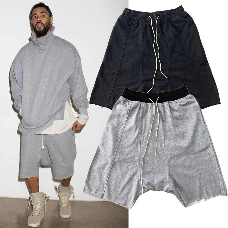 c064fd071834 Fear Of God Shorts Men S Clothing Camouflage Cotton Drawstring Fog Hip Hop  Shorts Justin Bieber Street