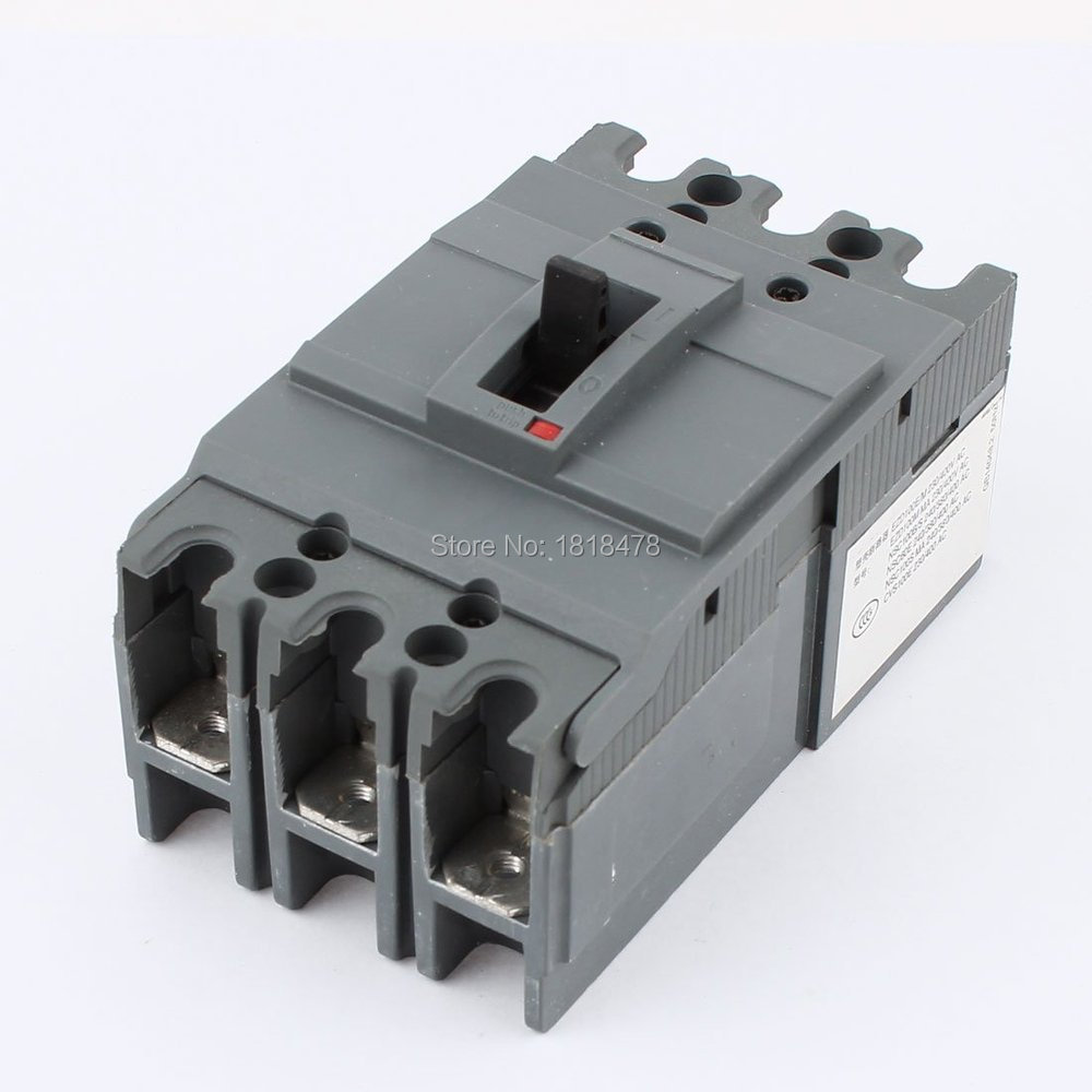 moulded case circuit breaker CVS100E 60A 50A 40A AC 220/230V 380/400V 3 Pole Overload Protection Circuit Breakermoulded case circuit breaker CVS100E 60A 50A 40A AC 220/230V 380/400V 3 Pole Overload Protection Circuit Breaker