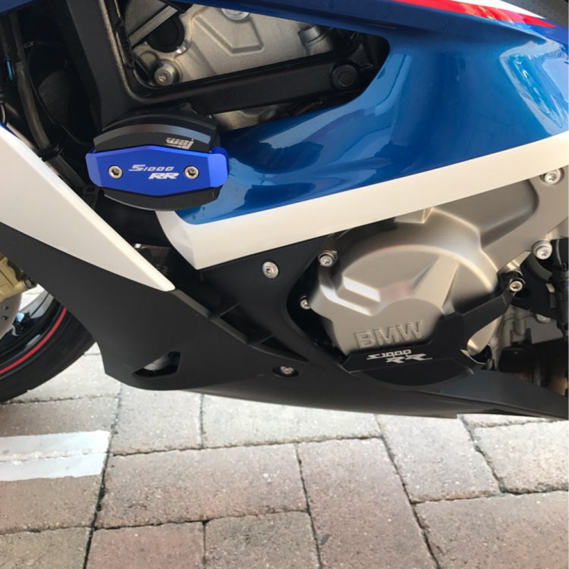 Image 3 - S1000RR S 1000 R RR XR Motorcycle CNC Engine Saver Stator Case Cover Crash Protector Guard for BMW S1000RR HP4 S1000R S1000XR-in Falling Protection from Automobiles & Motorcycles
