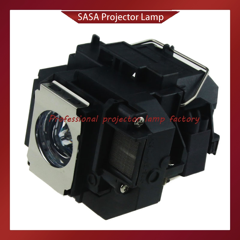 Projector lamp bulb ELPLP58 for Epson EB-S9 EB-S92 EB-W10 EB-W9 EB-X10 EB-X9 EB-X92 EB-S10 EX3200 EX5200 EX7200 pureglare original projector lamp for av vision x4200 with housing