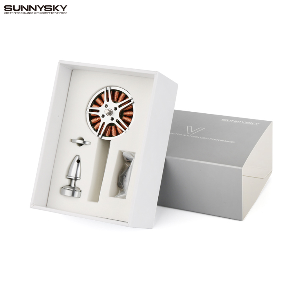 SUNNYSKY V4004 300KV 400kv Multi-copter Motor Outrunner Brushless Motor for FPV RC Multicopter sunnysky m80 130kv 150kv desk outrunner brushless motor for fpv rc multi rotors