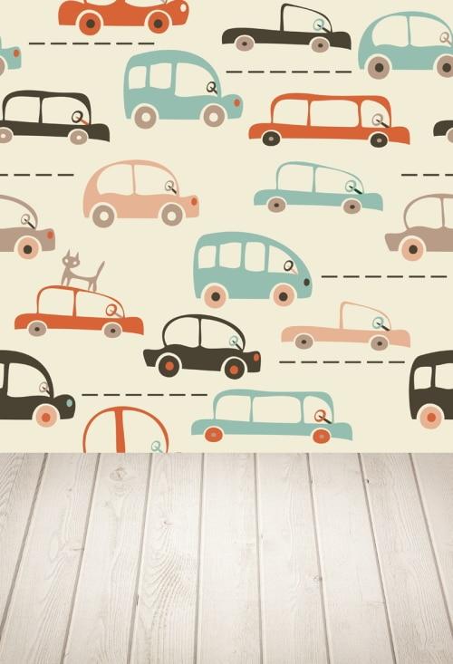 Φ Φhuayi mapa dos desenhos animados de carros e tráfego fotografia