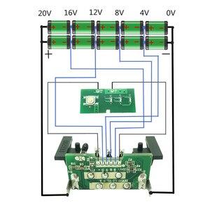 Image 5 - Per Dewalt 18 V 20 V Custodia In Plastica Della Batteria Li Ion 3.0Ah 4.0Ah DCB200 DCB201, DCB203, DCB204 Li Ion Batteria di Copertura di Ricambio