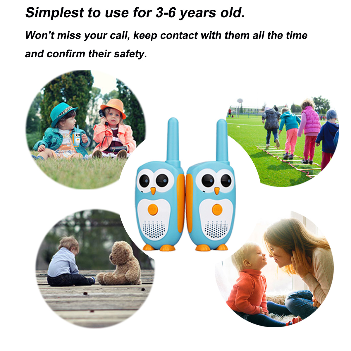 Image 5 - 2pcs Retevis RT30 Mini Walkie Talkie Kids Radio Station 0.5W PMR FRS UHF Radio 1 Channel 2 button Simplest Operate For Kids Toy-in Walkie Talkie from Cellphones & Telecommunications