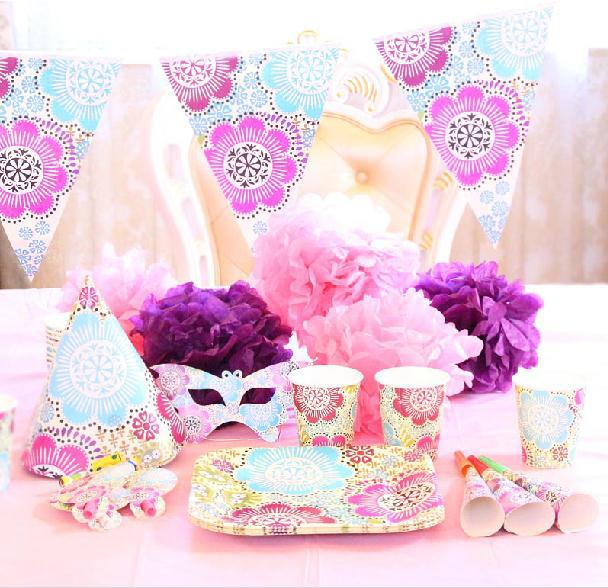2015 Beautiful Luxury Baby Boy Girl Pink Party Packs For Kids