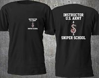 NEW US ARMY SNIPER SCHOOL MARINE SPECIAL FORCE T SHIRT S 3XL
