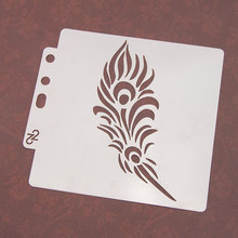 Feather Flame Sticker Painting Stencils for Diy Scrapbooking Stamps Home Decor Paper Card Template Decoration Album Crafts Art merry christmas trees sticker painting stencils for diy scrapbooking stamps home decor paper card template decoration album