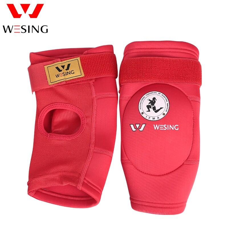 Muay thai coude pad coude protecteur coude garde vient kick sanda de boxe de boxe approuvé IFMA