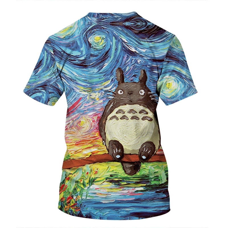 Totoro Harajuku 3D TShirt 1