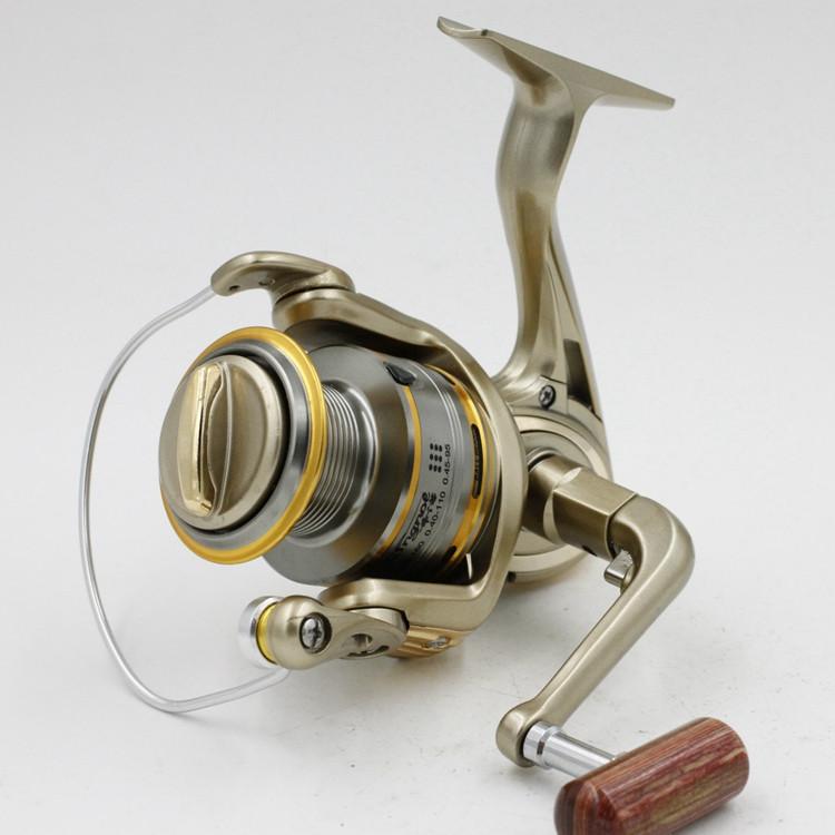 Cheap 1000-11000 Series Spinning Fishing Reel Saltwater 11 Bearing Trolling Sea Surf Casting Reels Low Profile Wheel China  (5)