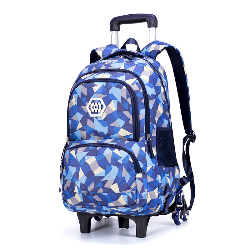 New Fashion Removable Children School Bags Waterproof For Girls Trolley Backpack Kids Wheel Bag Bookbag Travel Luggage Mochilas