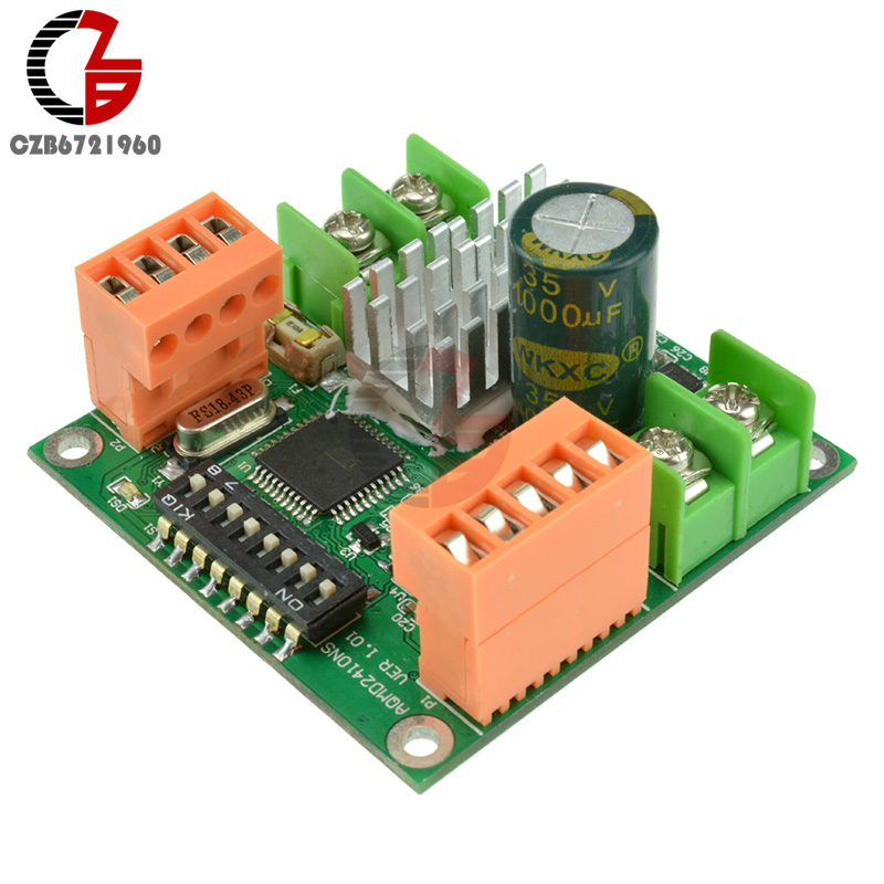180W 9V 12V 24V High-power DC Motor Driver Board Speed Controller Current PID Control amandeep gill manbir kaur and nirbhowjap singh speed control of brushless dc motor by neural network pid controller