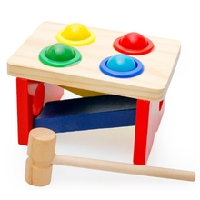 GEEK KING color matching educational wooden math toys for children mathematics Montessori Educational toddler baby to