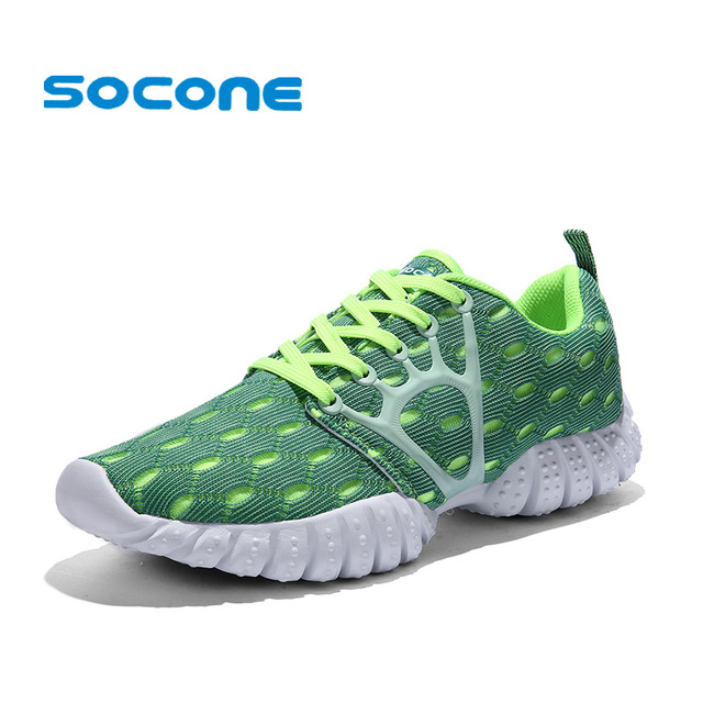 Socone Mens Mesh Running Shoes Breathable Summer Sneakers 2017 Sport Shoes  Men Lightweight Sneakers Walking Shoes