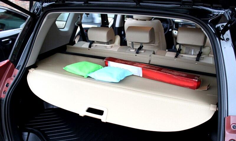 Image 3 - 2013 2014 2015 2016 2017 для Toyota RAV4 accessries алюминия и ткань задний багажник Тенты Грузовой Обложка 1 компл.-in Багажники для крыши авто и ящики from Автомобили и мотоциклы