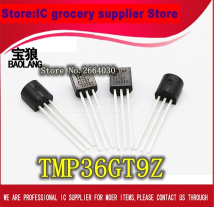 Купить Tmp36 Tmp36Gt9 Tmp36Gt9Z To92 Ic 2Pcs/lot Free Shipping