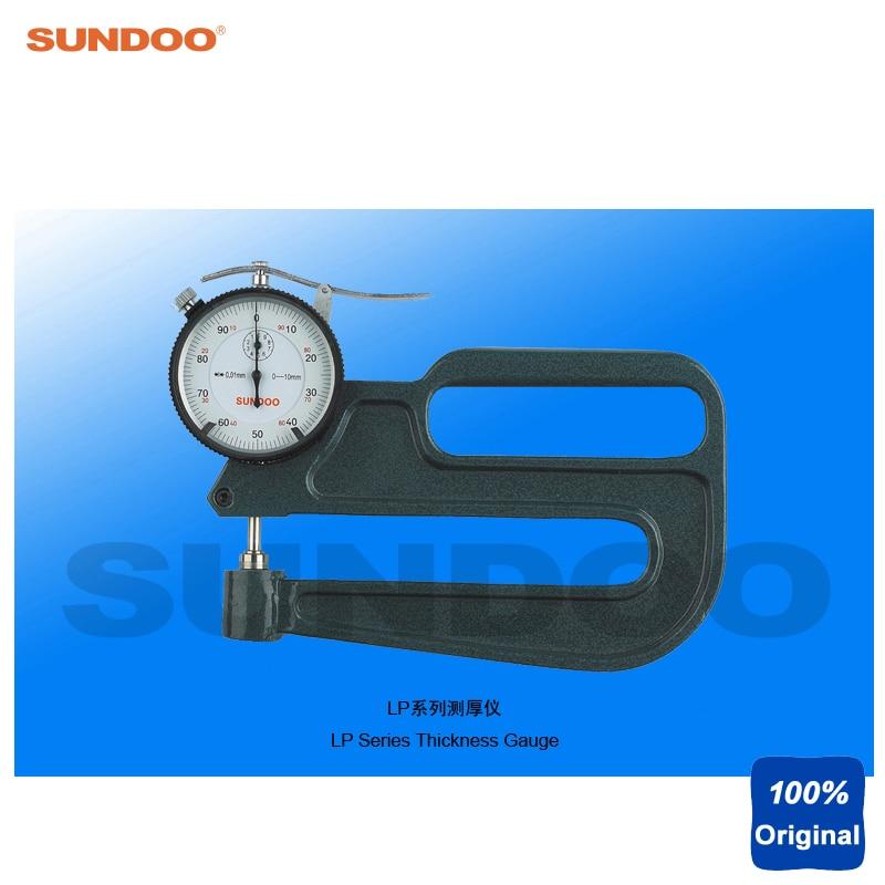 Sundoo LP-10120 Pointer Profundity Deep Throat Thickness Gauge Tester  thickness gauge deep throat measuring caliper 0 10 120mm depth