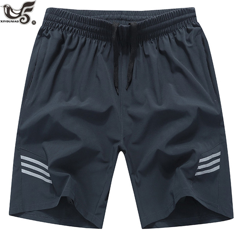 Plus Size 7XL,8XL,9XL Men`s Quick Drying Bermuda Masculina Male Gym Joggers Short Homme Men Board Shorts Sporting Sweatpants