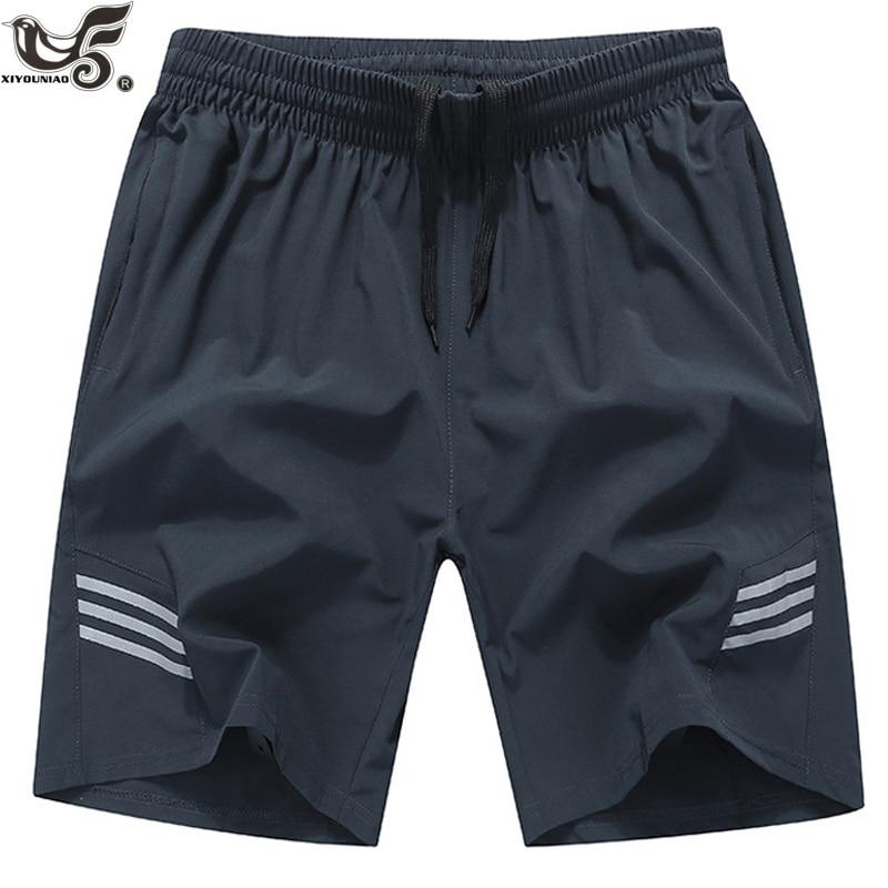 Plus Size 7XL,8XL,9XL Men`s Quick Drying Bermuda Masculina Male Gym Joggers Short Homme Men Board Shorts Sporting Sweatpants