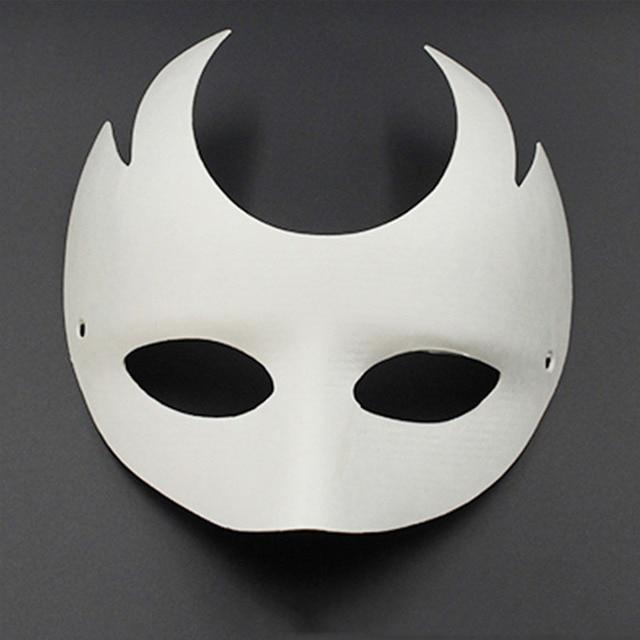 DIY papel blanco máscara veneciana sin pintar para hombres mujeres ...