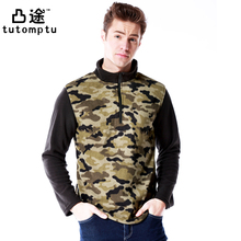Free Tech New Outdoor Clothing Fleece Jacket Men Thermal Antistatic Winter Jacket Polyester Polartec Camping Camouflage M-5XL