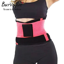 Burvogue Hot Shapers Women Body Shaper Slimming Waist Shaper Belt Girdles Firm Control Waist Trainer Cincher Plus size Shapewear