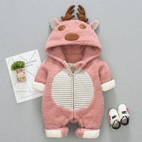 30 Winter baby girls clothes sets for newborn infant baby boys girls fleece warm jacket Coveralls rompers coats clothing sets