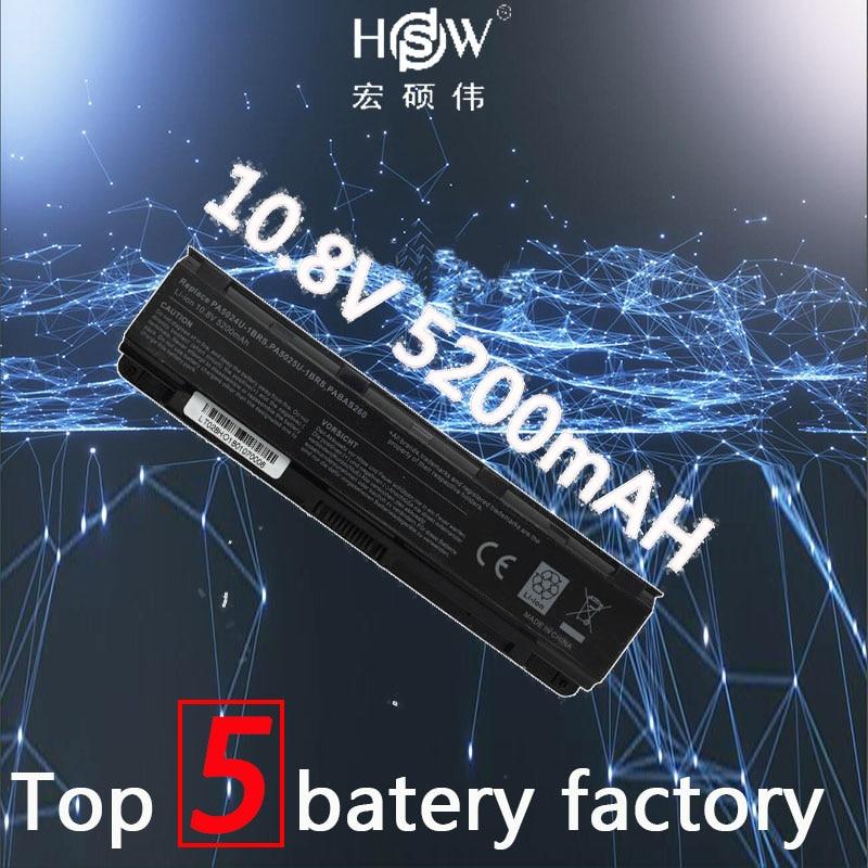 HSW Battery For Toshiba C805 C805D C840 C840D C845 C845D C850 C850D Battery C855 C855D C870 C870D C875D PA5024 Laptop Battery