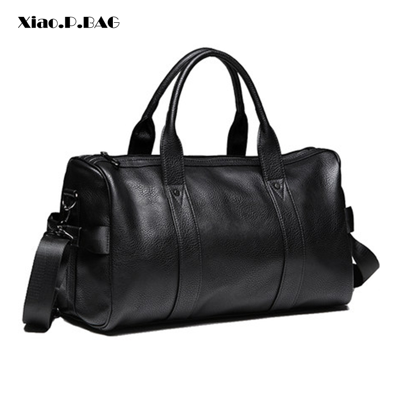 Brand Manufacture Men Handbag Fashion Trend Minimalist Design Large Capacity Gym Bags Travel Duffle Bag Single