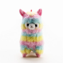 15CM Alpaca Lama Vicugna Pacos Plush Toy Japan Alpacasso Baby Soft Plush Stuffed Animals Alpaca Plush Toys