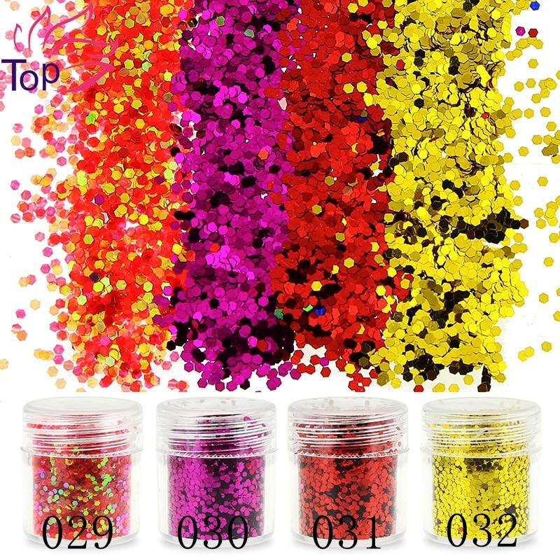 1 Bottle Bright Sequin 3D Dust Gem Nail Glitter Decorations - Маникюр - фото 2
