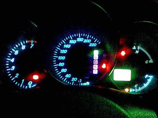 12 V LED Kristal Mavi Renk araba ampulü Lamba T5 (Floresan Lamba) w1.2W W2.3W W2X2.6d Pano Sinyal Küllük Işık