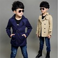 teenage boys trench coat khaki windbreaker children fashion outerwear coats jackets autumn winter new arrivals wear