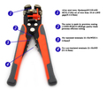 Automatic Wire Stripper Tool Crimping Pliers Multifunctional Terminal Tools Durable and Reliable Dropshipping 58