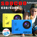 Soocoo c30/c30r 20mp cámara de acción deportiva impermeable ntk96660 4 K Wifi 1080 P/60FPS Go pro Cámara Subacuática HD Bike Al Aire Libre Cam