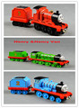 6pcs/lot Magnetic Alloy Thomas and Friends  James&Trailer,Henry&Trailer,Edward&Trailer Thomas Trains Diecast Toy Train