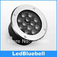 12W LED подземный свет уличный напольный светодиод Водонепроницаемый IP67 AC90 ~ 260V