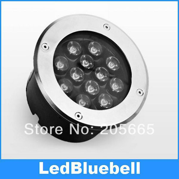 12W LED Underground Light Outdoor LED Floor Light Waterproof IP67 AC90~260V