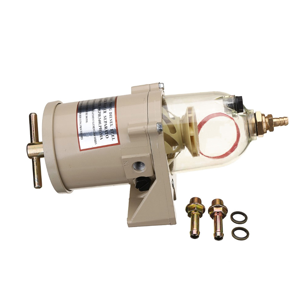 hight resolution of 500fg 500fh diesel fuel filter oil water separator marine boat trucks 90gph boat fuel filter