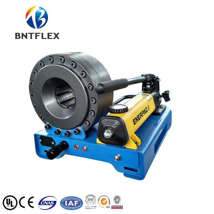 US $1699 0 |Aliexpress com : Buy 7 dies for free BNT30A similar to Finn  power hand hydraulic press up to 1 inch 2 wires hydraulic hose from  Reliable