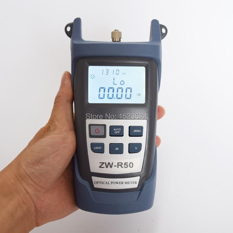 섬유 광학 멀티 미터 -50 ~ + 26dBm 소형 섬유 광 파워 - 통신 장비 - 사진 3